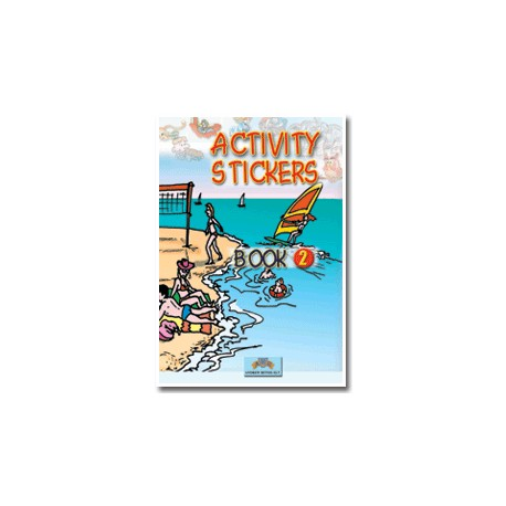Activity Stickers Book 2 Andrew Betsis 9789604131501