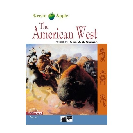 The American West + CD Black Cat - CIDEB 9788877549693