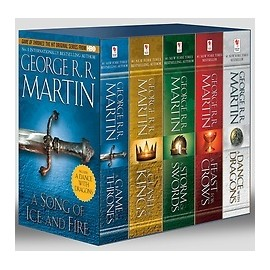 Song of Ice & Fire Complete 5-Book Boxed Set (US Edition)