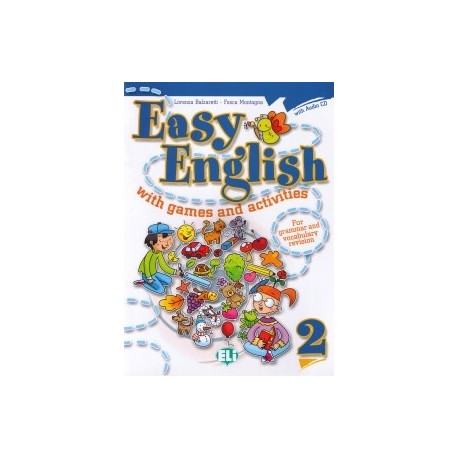 Easy English with Games and Activities 2 + CD ELI 9788853604392