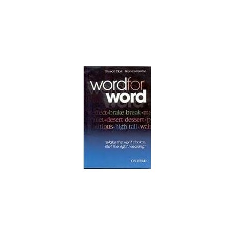 Word for Word Oxford University Press 9780194327558
