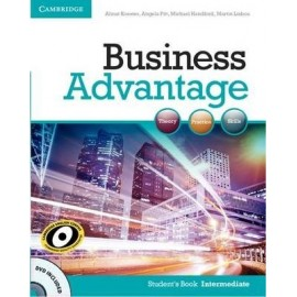 Business Advantage Intermediate Student's Book + DVD