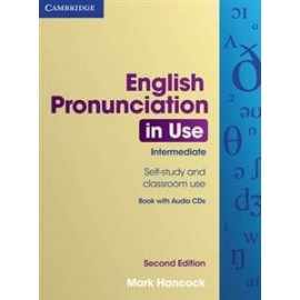 English Pronunciation in Use Intermediate Second Edition Book with answers + Audio CDs Pack