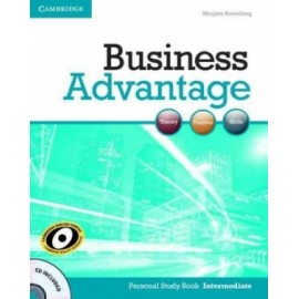 Business Advantage Intermediate Personal Study Book + CD