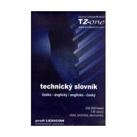 Technický slovník česko-anglický / anglicko-český CD