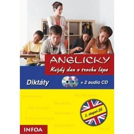Anglicky Každý den o trochu lépe - Diktáty + 2 CD