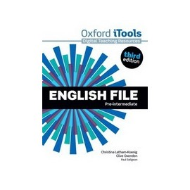 English File Third Edition Pre-Intermediate iTools DVD-ROM