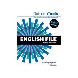 English File Third Edition Pre-Intermediate iTools DVD-ROM