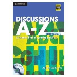 Discussions A-Z Intermediate + audio CD