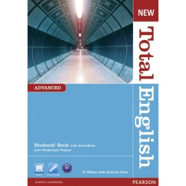 New Total English Advanced Student's Book with Active Book CD-ROM