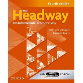 New Headway Pre-Intermediate Fourth Edition Teacher's Book + CD-ROM