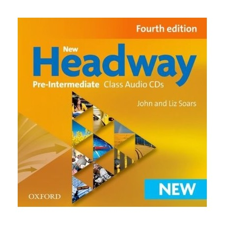 New Headway Pre-Intermediate Fourth Edition Class Audio CDs Oxford University Press 9780194769617