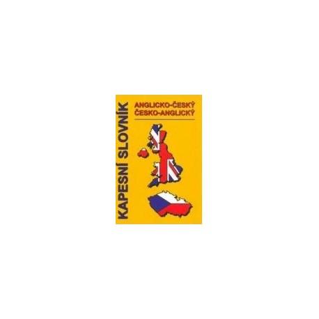 Kapesní slovník anglicko-český, česko-anglický Pavel Pařízek P&P 9788090307230