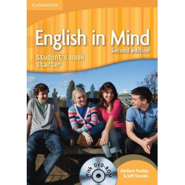 English in Mind Starter Second Edition Student's Book + DVD-ROM