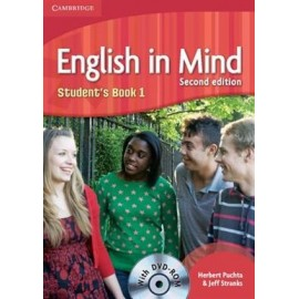 English in Mind 1 Second Edition Student's Book + DVD-ROM