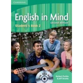 English in Mind 2 Second Edition Student's Book + DVD-ROM