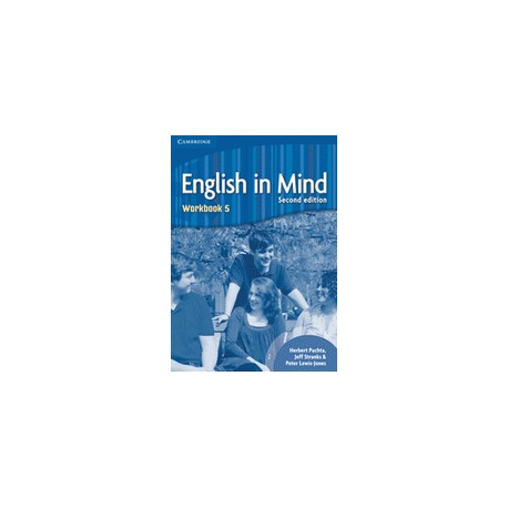 English in Mind 5 Second Edition Workbook Cambridge University Press 9780521184571