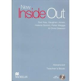 New Inside Out Advanced Teacher's Book + Test CD