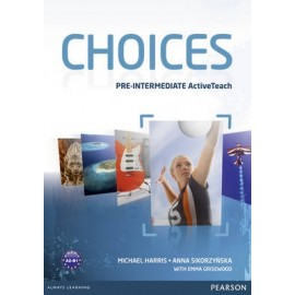 Choices Pre-Intermediate Active Teach (Interactive Whiteboard Software)