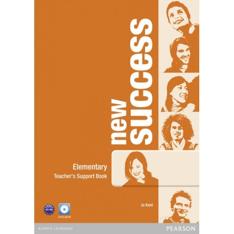 New Success Elementary Teacher's Book + DVD-ROM Pearson 9781408297087