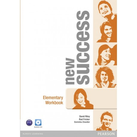 New Success Elementary Workbook + Audio CD Pearson 9781408297094