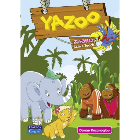 Yazoo Global Starter Active Teach CD-ROM (Interactive Whiteboard Software) Pearson Longman 9781408267622
