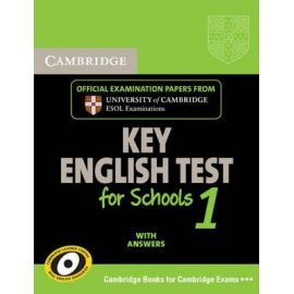 Cambridge KET for Schools 1 Self-study Pack (Student's Book with answers + Audio CD)