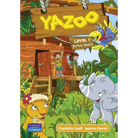 Yazoo Global Level 1 Active Teach CD-ROM (Interactive Whiteboard Software) Pearson Longman 9781408233108