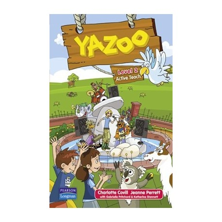 Yazoo Global Level 2 Active Teach CD-ROM (Interactive Whiteboard Software) Pearson Longman 9781408233214