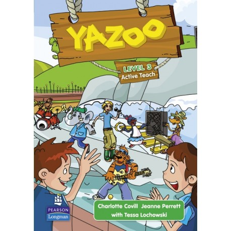 Yazoo Global Level 3 Active Teach CD-ROM (Interactive Whiteboard Software) Pearson Longman 9781408233320
