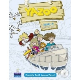 Yazoo Global Level 4 Activity Book + CD-ROM