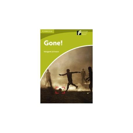 Cambridge Discovery Readers: Gone! + Online resources Cambridge University Press 9788483235096