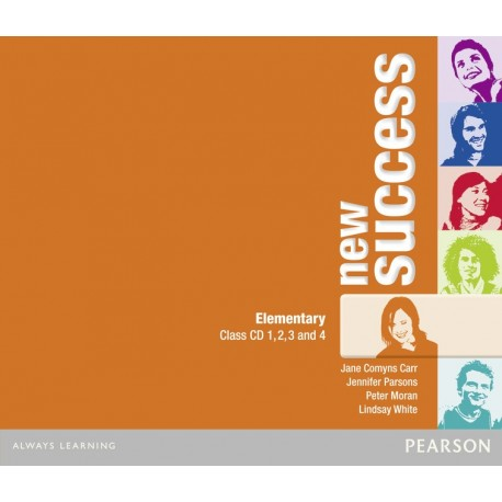 New Success Elementary Class CDs Pearson 9781408249024