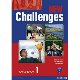 New Challenges 1 Active Teach CD-ROM (Interactive Whiteboard Software)