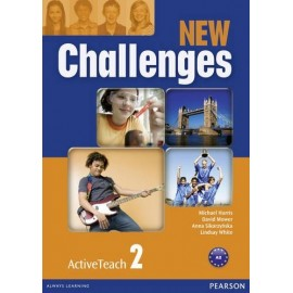 New Challenges 2 Active Teach CD-ROM (Interactive Whiteboard Software)