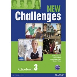 New Challenges 3 Active Teach CD-ROM (Interactive Whiteboard Software)