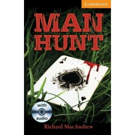 Cambridge Readers: Man Hunt + Audio CDs