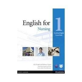 English for Nursing Level 1 Coursebook + CD-ROM