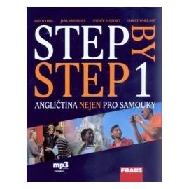 Step By Step 1 - angličtina nejen pro samouky + MP3 audio ke stažení