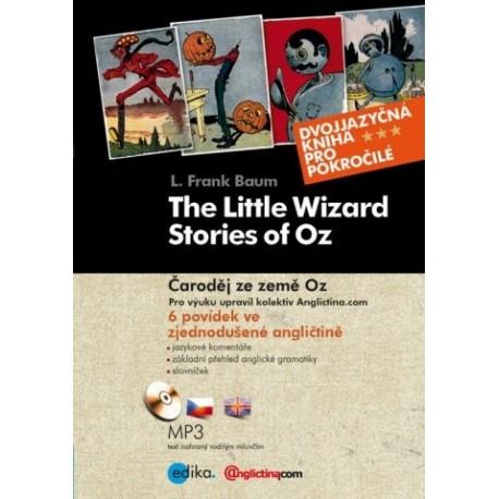 The Little Wizard Stories of Oz / Čaroděj ze země Oz + MP3 Audio CD Albatros Media 9788026600633