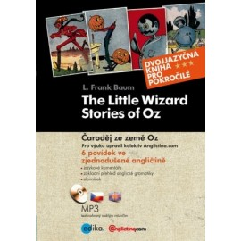 The Little Wizard Stories of Oz / Čaroděj ze země Oz + MP3 Audio CD