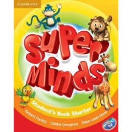 Super Minds Starter Student's Book + DVD-ROM