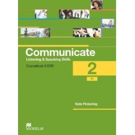 Communicate 2 Student's Coursebook Pack (Book + DVD)