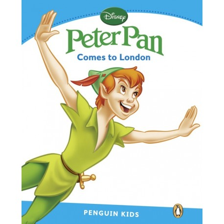 Penguin Kids Level 1: Peter Pan - Comes to London Pearson 9781408288528
