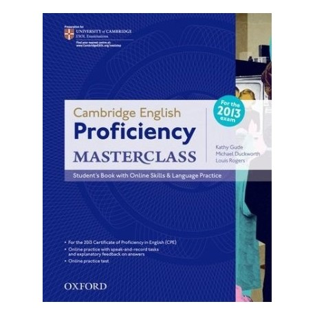 Cambridge English Proficiency Masterclass Student's Book + Online Skills &  Language Practice