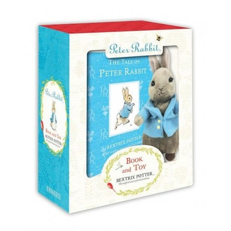 Peter Rabbit: A book and toy gift set Warne 9780723268925