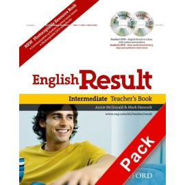 English Result Intermediate Teacher's Resource Book + DVD + Photocopiable Materials