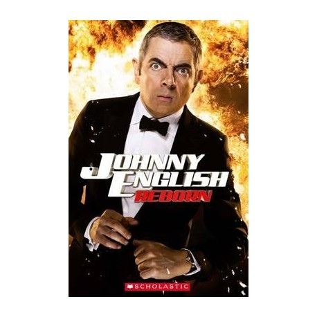 Scholastic Readers: Johnny English Reborn + CD Scholastic 9781407133720
