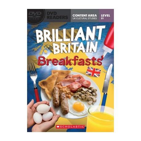 Scholastic Readers: Brilliant Britain - Breakfasts + DVD Scholastic 9781908351043