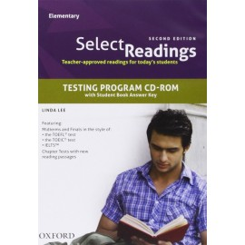 Select Readings Second Edition Elementary Teacher's Resource CD-ROM